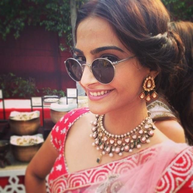 Sonam Kapoor at her Friend Wedding