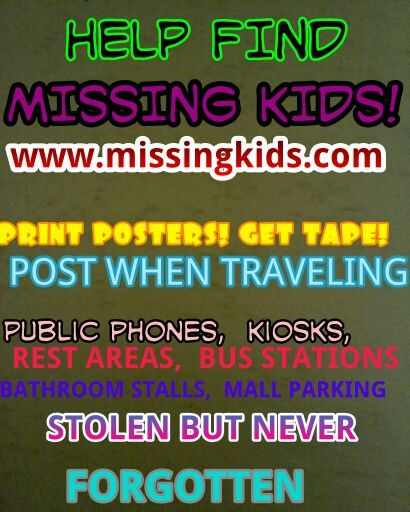 29 best MISSING\/WANTED\/UNIDENTIFIED images on Pinterest Amber - make a missing poster