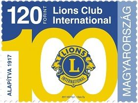 100th anniversary of the founding of Lions Club International, Single Stamp