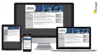 irondia gmbh, Stansstad, Flexipage, Responsive Webdesign, Internetauftritt