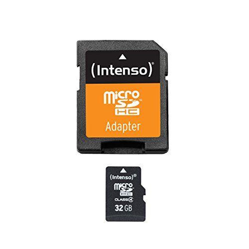 Intenso Micro SDHC 32GB Class 4 Speicherkarte inkl. SD-Adapter - http://kameras-kaufen.de/intenso/intenso-micro-sdhc-32gb-class-10-speicherkarte-sd-10