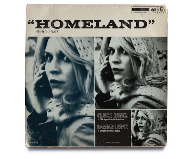 Homeland TV Shows As Jazz Vinyls Covers  After the final of Tv show Homeland's season 2, American graphic design studio Mattson Creative has decided to pay tribute to Carrie Mathison and Sergent Brody by making 12 vinyls' covers inspired by a jazzy design. A series that takes the classic codes and updates them through modern culture's references, to discover.