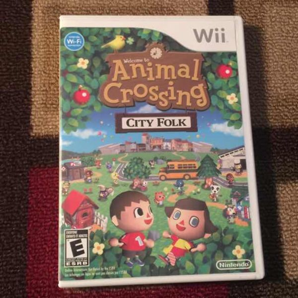 For Sale: Animal Crossing City Folk Wii for $15