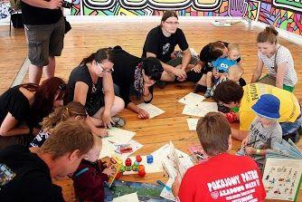 Ciotka Książkula i Moliki Książkowe - warsztaty dla dzieci na #ASP 19. Przystanku Woodstock