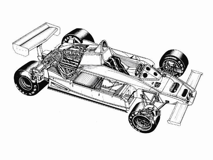 Brabham Bt50 1981 82 Cutaway Pinterest Technical