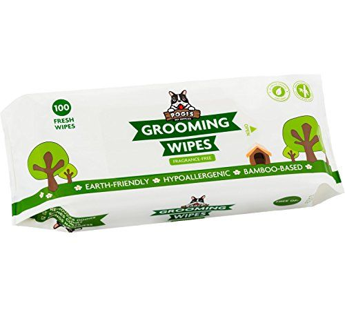 Pogis Grooming Wipes  100 Deodorizing Wipes for Dogs  Cats  Large Hypoallergenic FragranceFree All Natural Pet Wipes ** You can find out more details at the link of the image.(This is an Amazon affiliate link and I receive a commission for the sales)