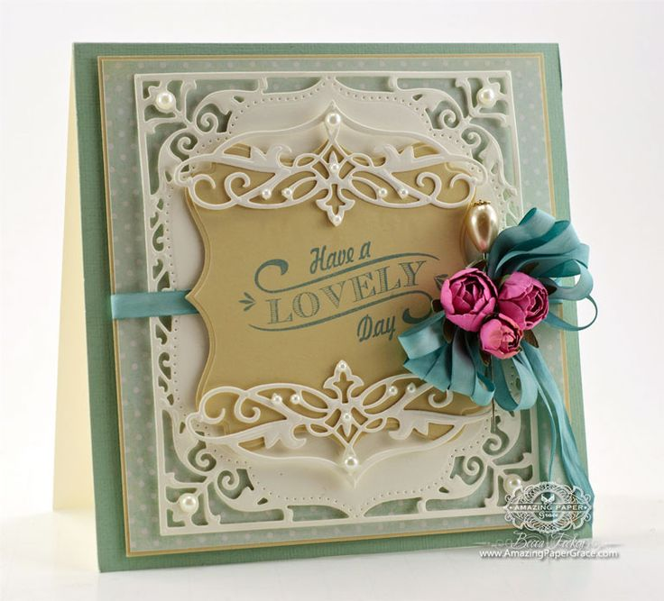 Superior Card Making Ideas Using Dies Part - 9: Card Making Ideas By Becca Feeken Using Spellbinders Elegant Labels Four -  Www.amazingpapergrace.