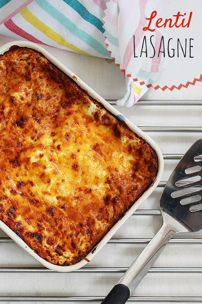 This red split lentil lasagne is a perfect dish for the whole family. It is a brilliant dish for baby led weaning (BLW) too. An all round great veggie dish.