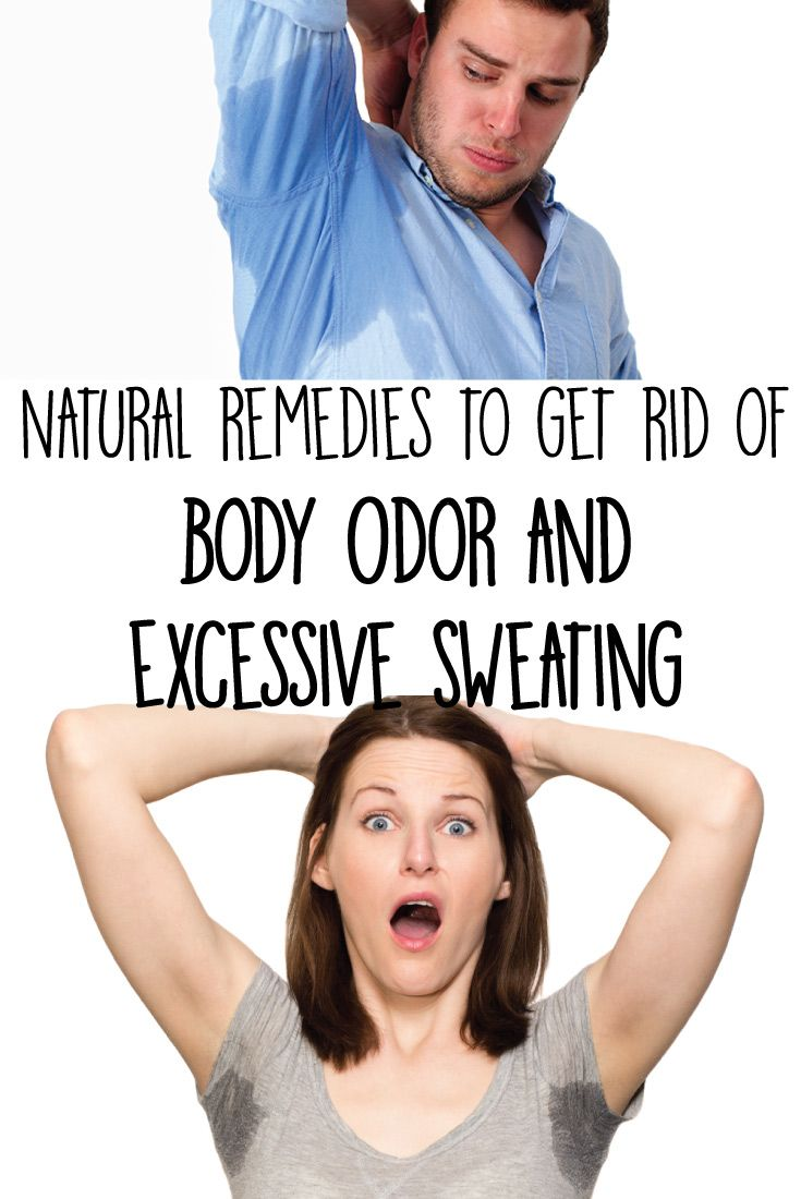 Natural remedies to get rid of Body Odor and Excessive Sweating…