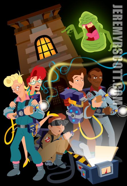 The Real Ghostbusters by jeremyrscott.deviantart.com on @deviantART