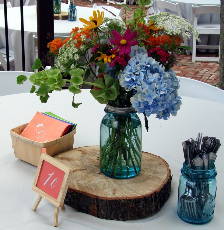 Ideas about wood slab centerpiece on pinterest