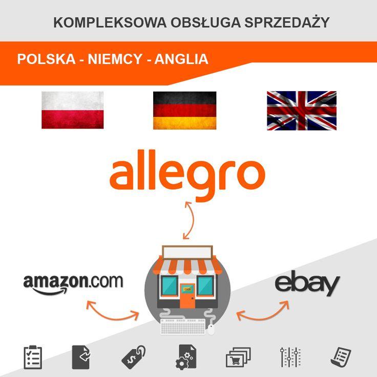 Chcesz dotrzeć ze swoją ofertą do zagranicznych klientów? Skontaktuj się z nami! Zajmujemy się kompleksową obsługa sprzedaży zarówno na naszym rodzimym rynku jak i w niemczech oraz Wielkiej Brytanii. Nasi specjaliści zajmą się dla Państwa firmy sprzedażą za pośrednictwem takich serwisów jak Amazon, eBay czy też Allegro.  http://e-prom.com.pl 📱 792 817 241 📩 biuro@e-prom.com.pl  #ebay #amazon #allegro #obsługasprzedaży #sprzedażzagranicą #obsługaamazon #obsługaebay #obsługaallegro