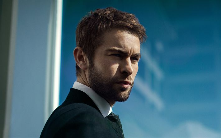 Download wallpapers Chace Crawford, American actor, portrait, photoshoot, man in suit