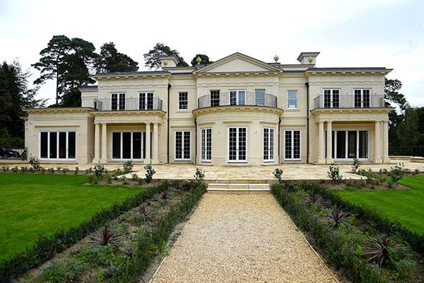 Mumford Wood New Build Mansion On The Stunning Wentworth Estate Mansions New Builds Building