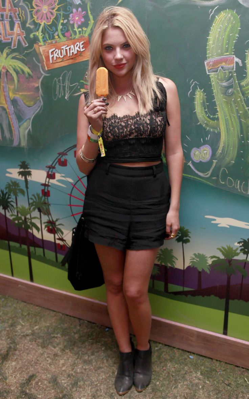 Ashley Benson: 2014 Coachella -02