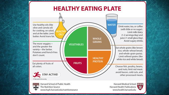 The Harvard Healthy Eating Plate Offers Politics-Free Nutritional Guidelines - My choice!