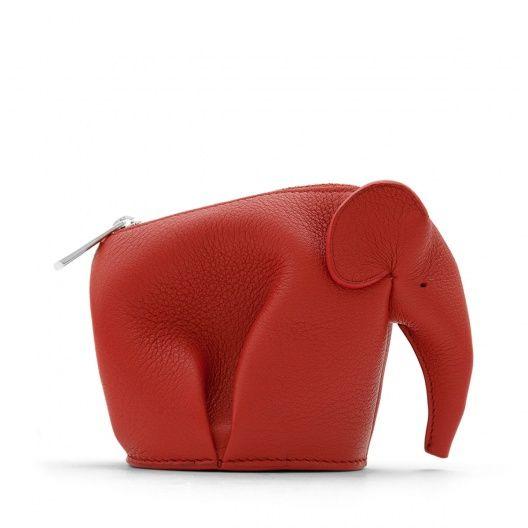 Loewe Homepage_ WEBSITE - Monedero Elefante Rojo