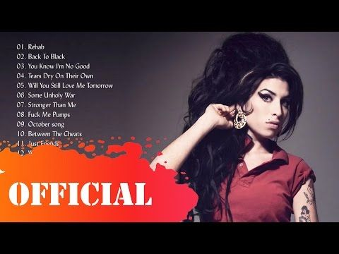 Amy Winehouse Biggest Selling Singles Amy Winehouse