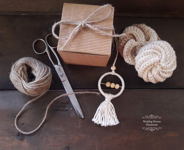 Wedding Dream Handmade: Set regali di Natale, tawashi e