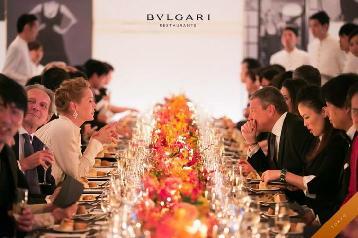 The #Bulgari's celebrations for its 130th anniversary arrived to Japan accompanied by #Uma Thurman as special guest. A sumptuous #dinner created by Luca Fantin, the starred chef of Bulgari Il Ristorante Tokyo, has been experienced by 150 famed guests. #bulgarihotel