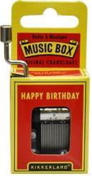$164. Librería El Péndulo. Happy Birthday: caja musical