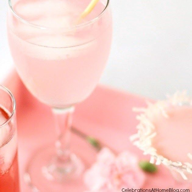 Pink Passion Cocktail Pink Drink Recipes Frozen Drink Recipes Cocktail Recipes Grenadine