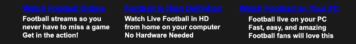 Watch Live NFL Football Games Online for Free on Your PC - 5 page views remaining today