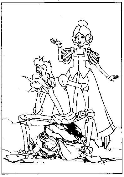 Dibujos para colorear de Don Quijote