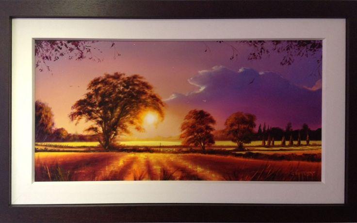 Sunset Through Trees by Ben Jeffery