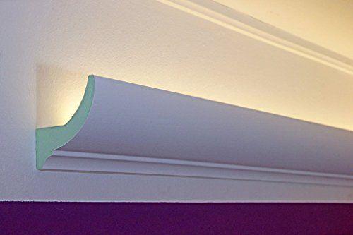 klassische led stuckleisten lichtprofile aus hartschaum f r indirekte led beleuchtung dbkl 82. Black Bedroom Furniture Sets. Home Design Ideas