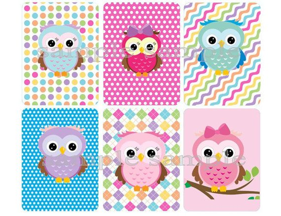 Hey, I found this really awesome Etsy listing at https://www.etsy.com/listing/175355423/cute-owls-shrinky-dink-image