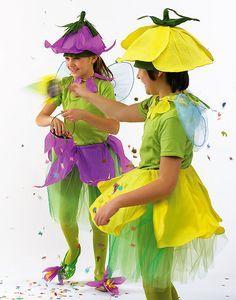 Afbeeldingsresultaat voor costume flower diy