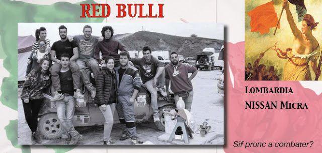58_RED BULLI http://rallydeglieroi2016.blogspot.it/p/catalogo-degli-eroi.html #rallydeglieroi #sonouneroe #Garibaldi @RobertoCattone