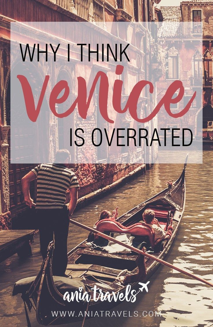 Everybody loves Venice, even people that have never been there before. So why did I not like this city that everyone is just so obsessed about? | Venice | Europe | Italy