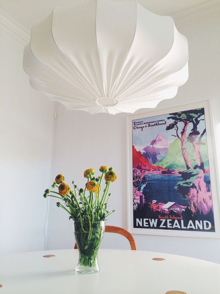 Stor taklampa retro eco 80 cm via Lampverket unika lampor