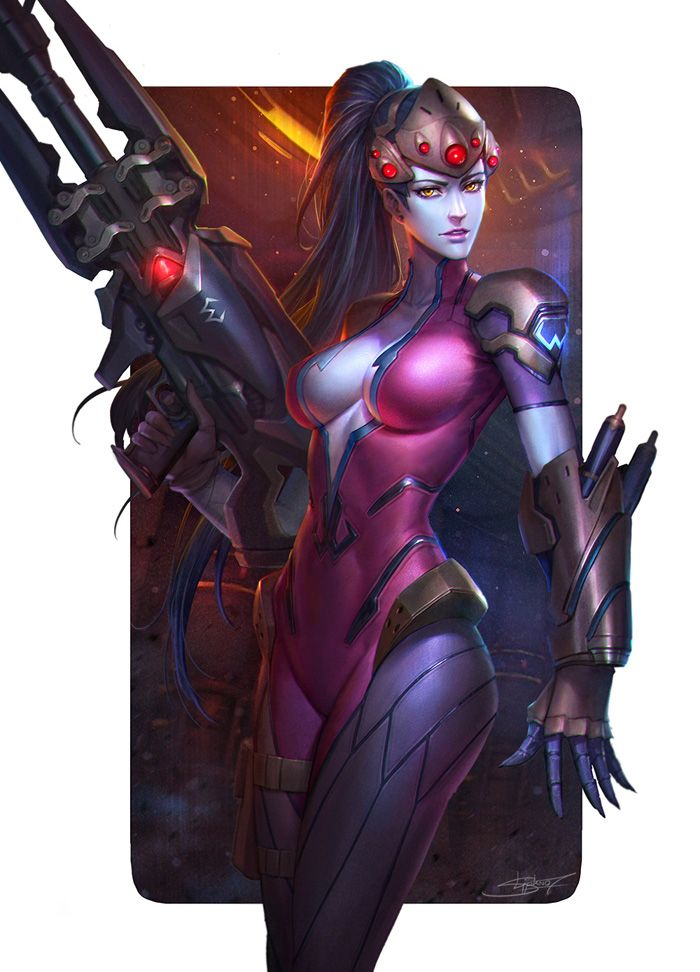 Overwatch Ladies Fan Art http://geekxgirls.com/article.php?ID=7306