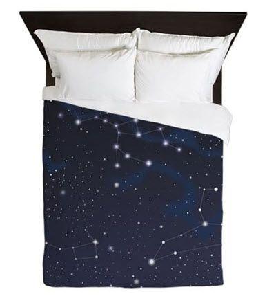 Magnificent Stars Duvet Cover