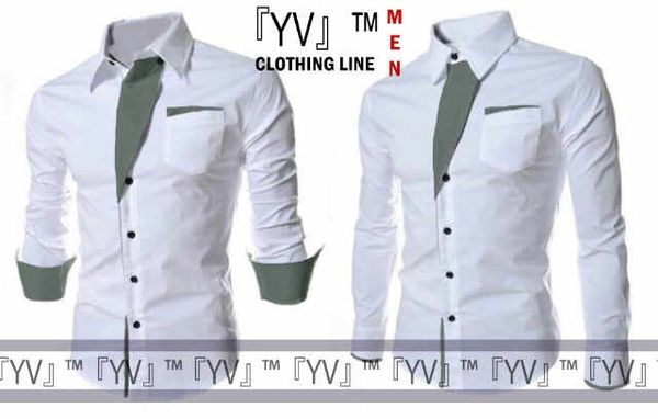 NAMA PRODUK : Kemeja YVMen 169 MERK : YV Collection / YV Clothing Line BAHAN : Cotton Stretch WARNA : - LINGKAR DADA : 96cm PANJANG : 77cm ELASTIS : Ya AKSESORIS : -