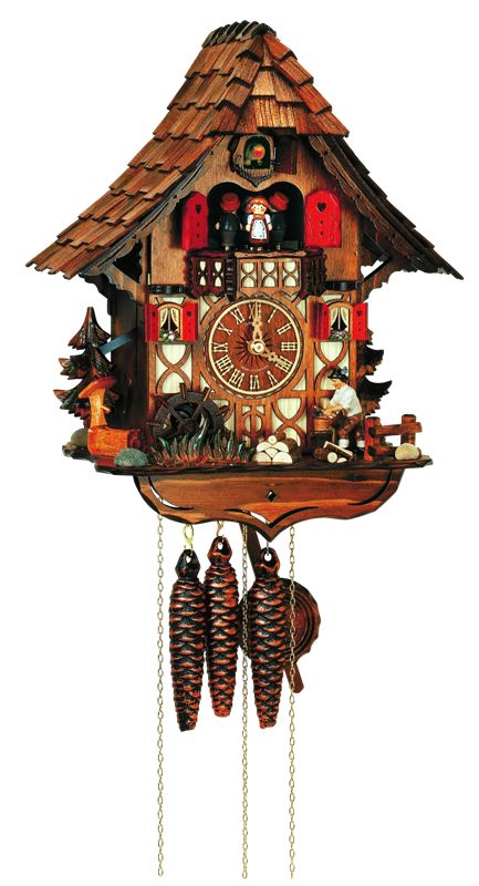 Cuckoo Clock from Rothenburg Germany