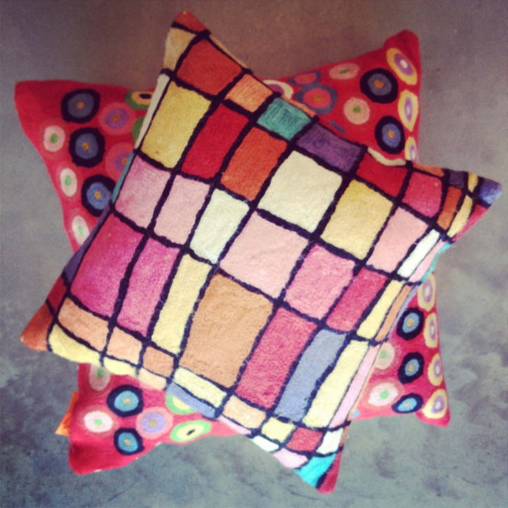 Gorgeous new cushions in the shop this week www.thegalleryshop.com.au!
