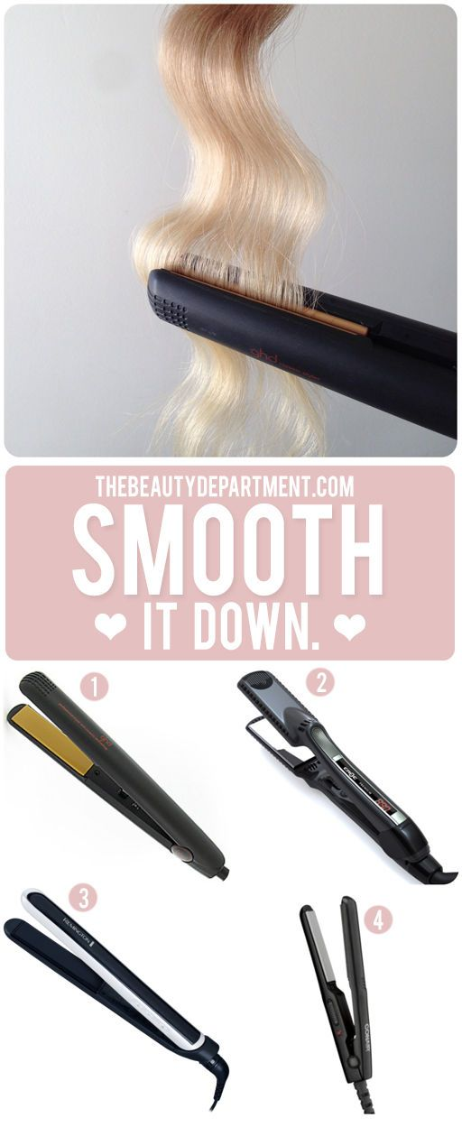 types of flat irons, liking the mini from conair for short hair
