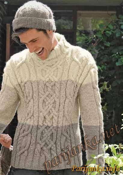 Пуловер и шапка (м) 27*159 (Бержер)