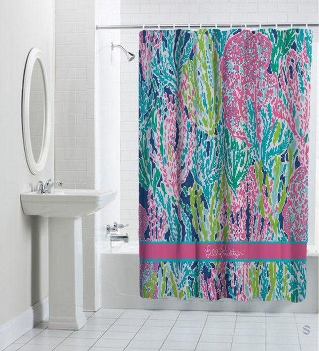25 Best Ideas About Navy Bathroom On Pinterest: 25+ Best Ideas About Coral Shower Curtains On Pinterest