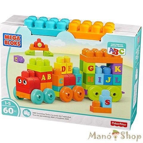 Mega Bloks ABC Betűvonat (DXH35)