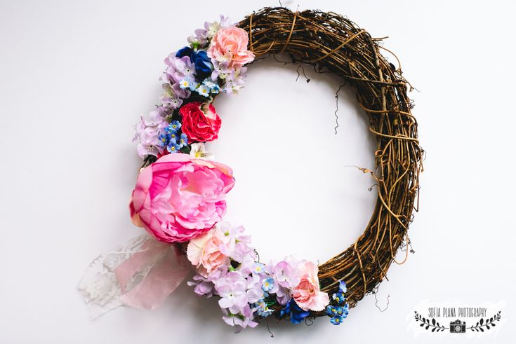 DIY spring easter wreath home decorations for spring sofia plana
