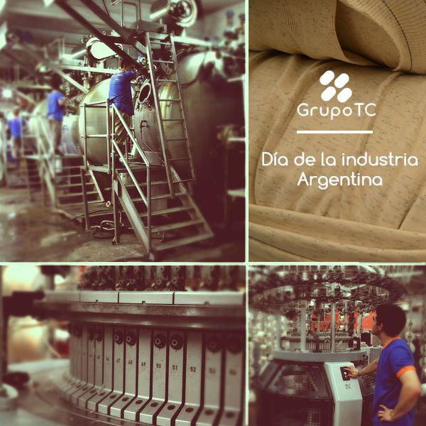 #DiaDeLaIndustria Grupo TC siente orgullo de formar parte de la industria Agentina