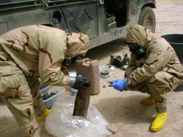 Examining a Rare Nerve-Agent Shell That Wounded American Troops in Iraq - NYTimes.com