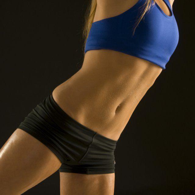abdominaux femme fitness