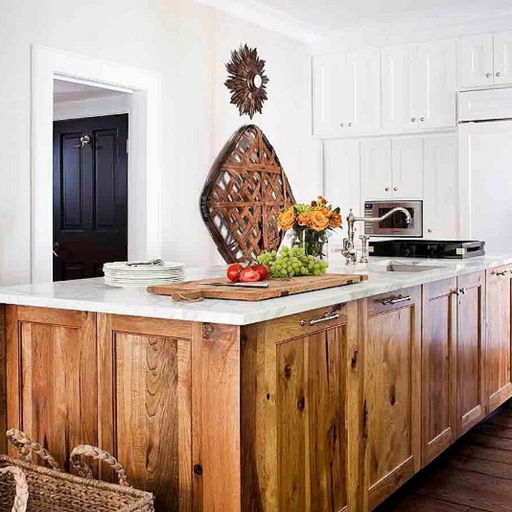24 Amazing Hickory Kitchen Cabinets For Your Beautiful Kitchen | Hometizer