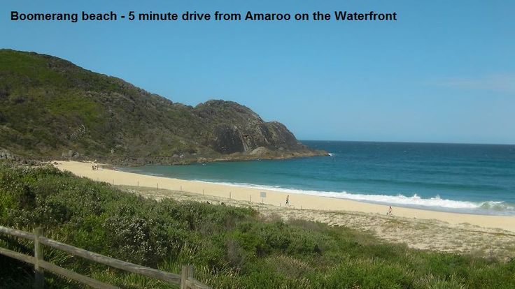 Beautiful Boomerang Beach just 5 minute drive from Smiths Lake is a super spot for www.OzeHols.com.au/1 #surfing #surfholidays #beachholidays